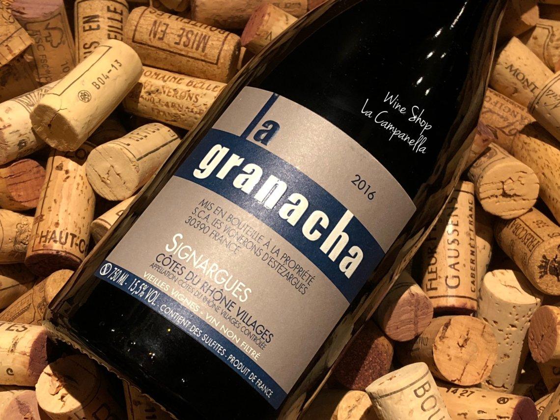 Cotes du Rhone Villages Vieilles Vignes La Granacha