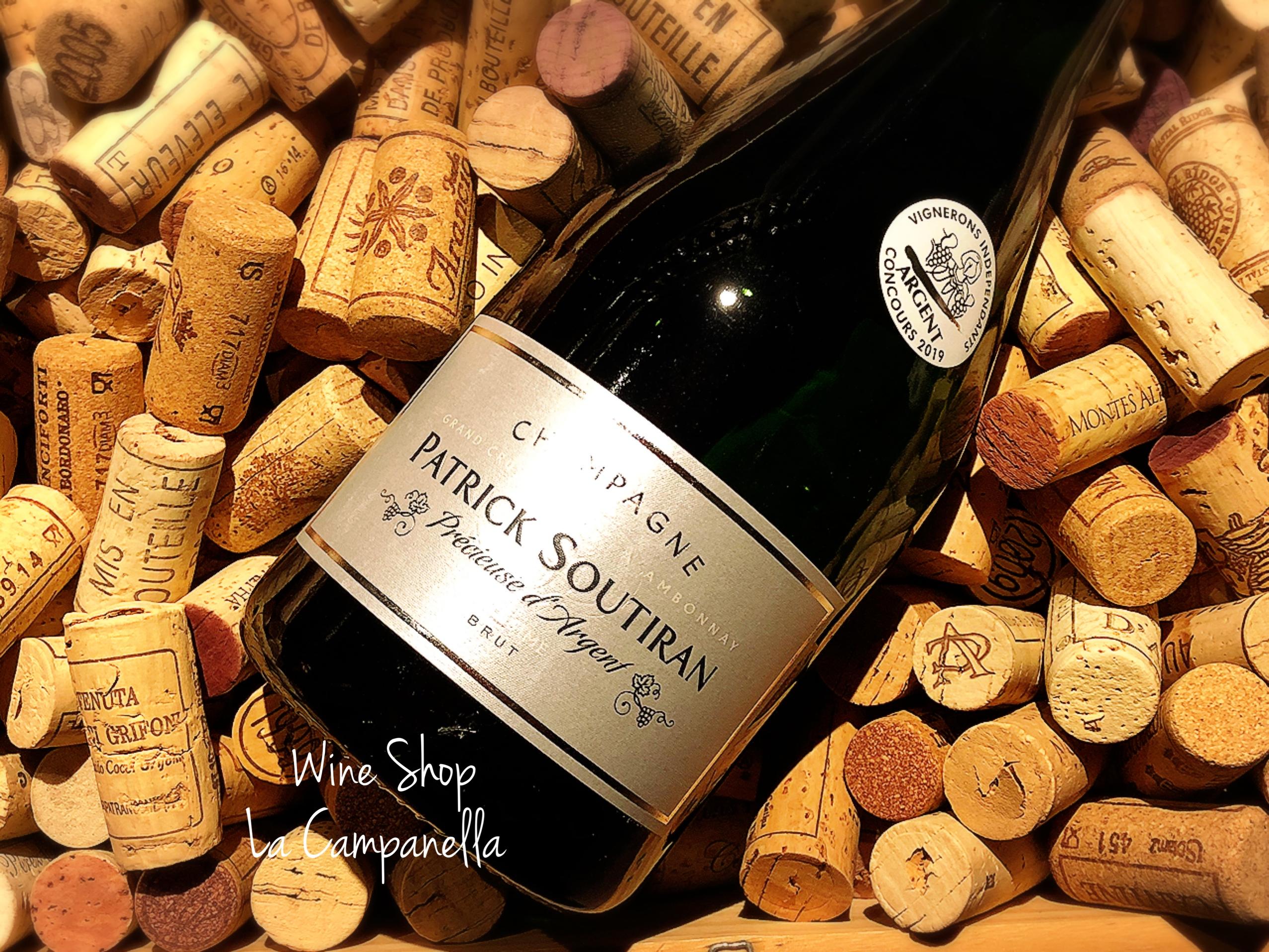 Champagne Precieuse d'Argent Grand Cru Patrick Soutiran