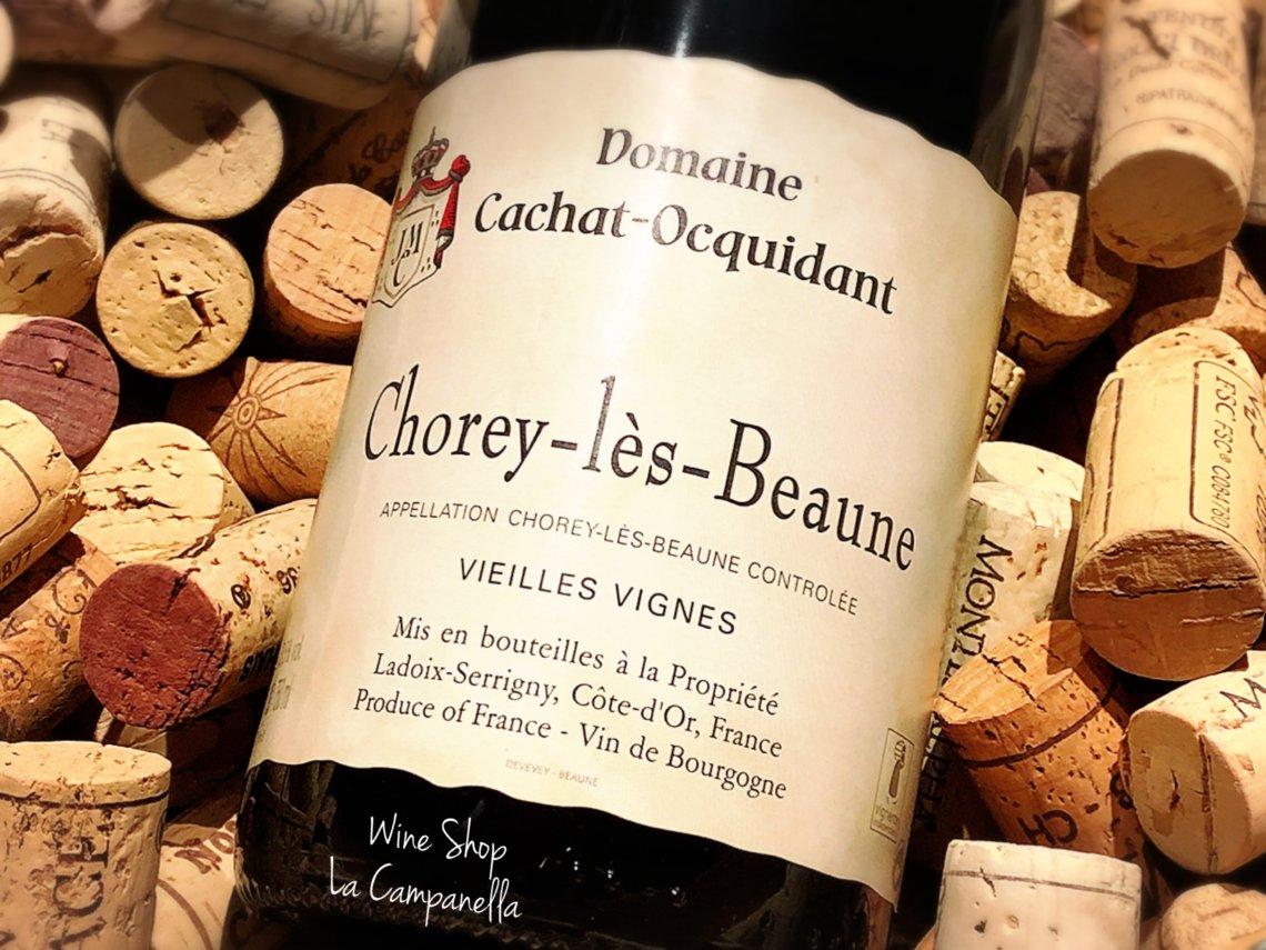 Chorey Les Beaune 2017 / Domaine Cachat Ocquidant