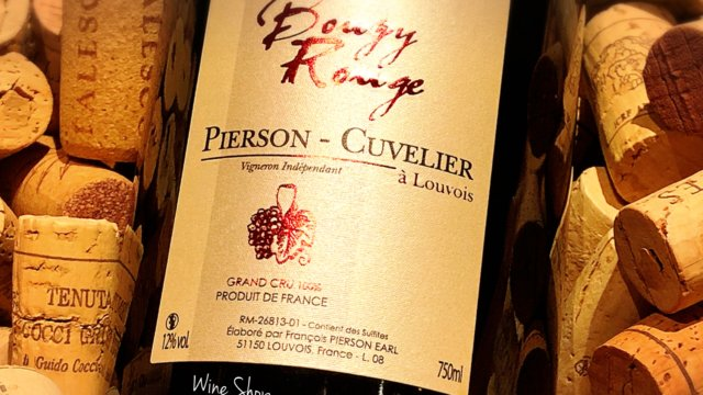 Bouzy Rouge / Champagne Pierson Cuvelier
