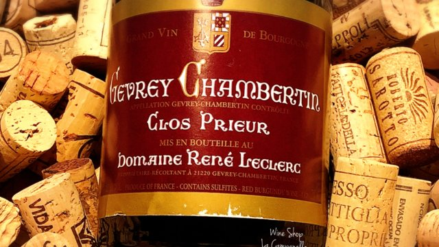 Gevrey Chambertin Clos Prieur