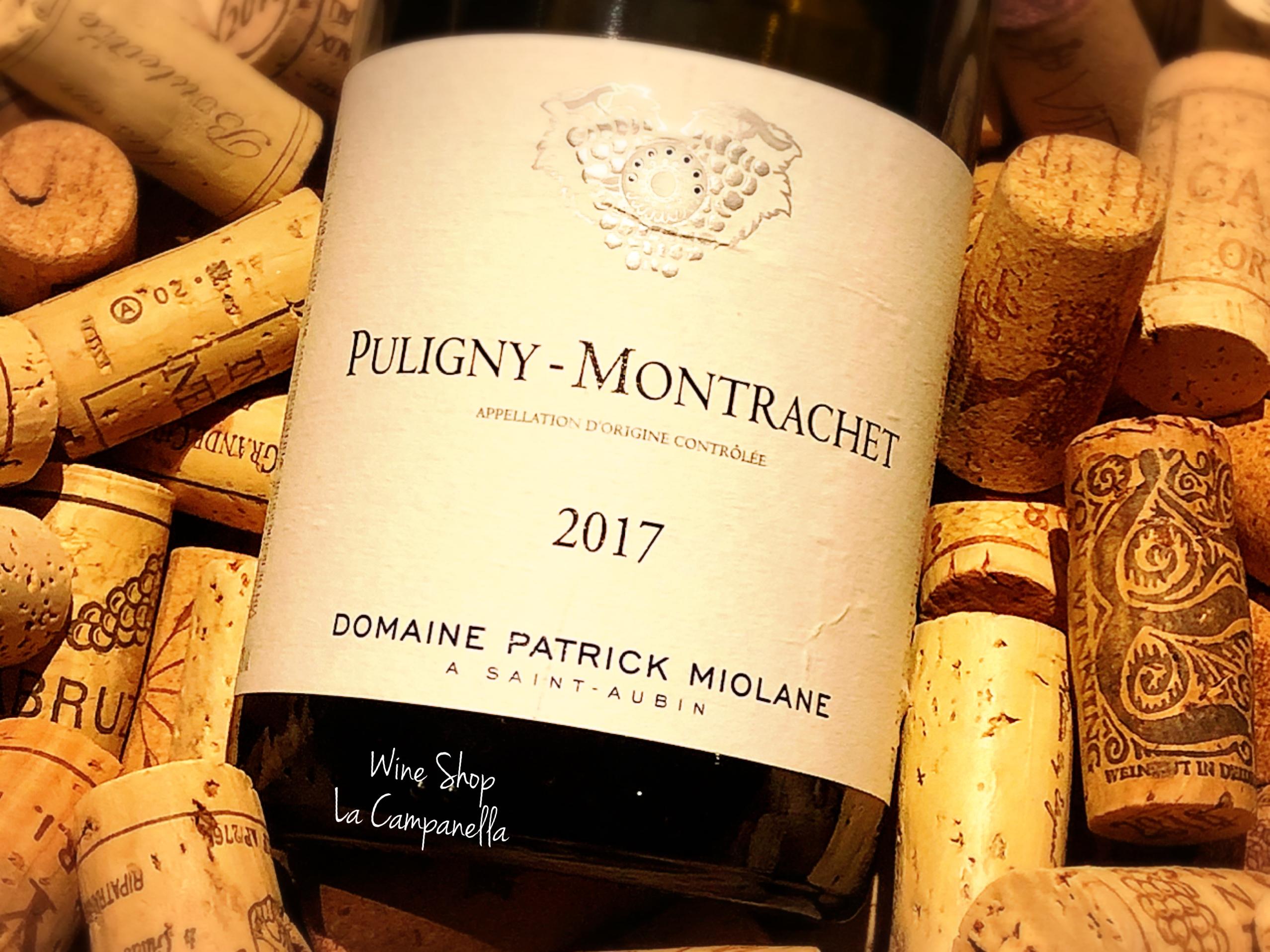 Puligny Montrachet 2017 Domaine Patrick Miolane