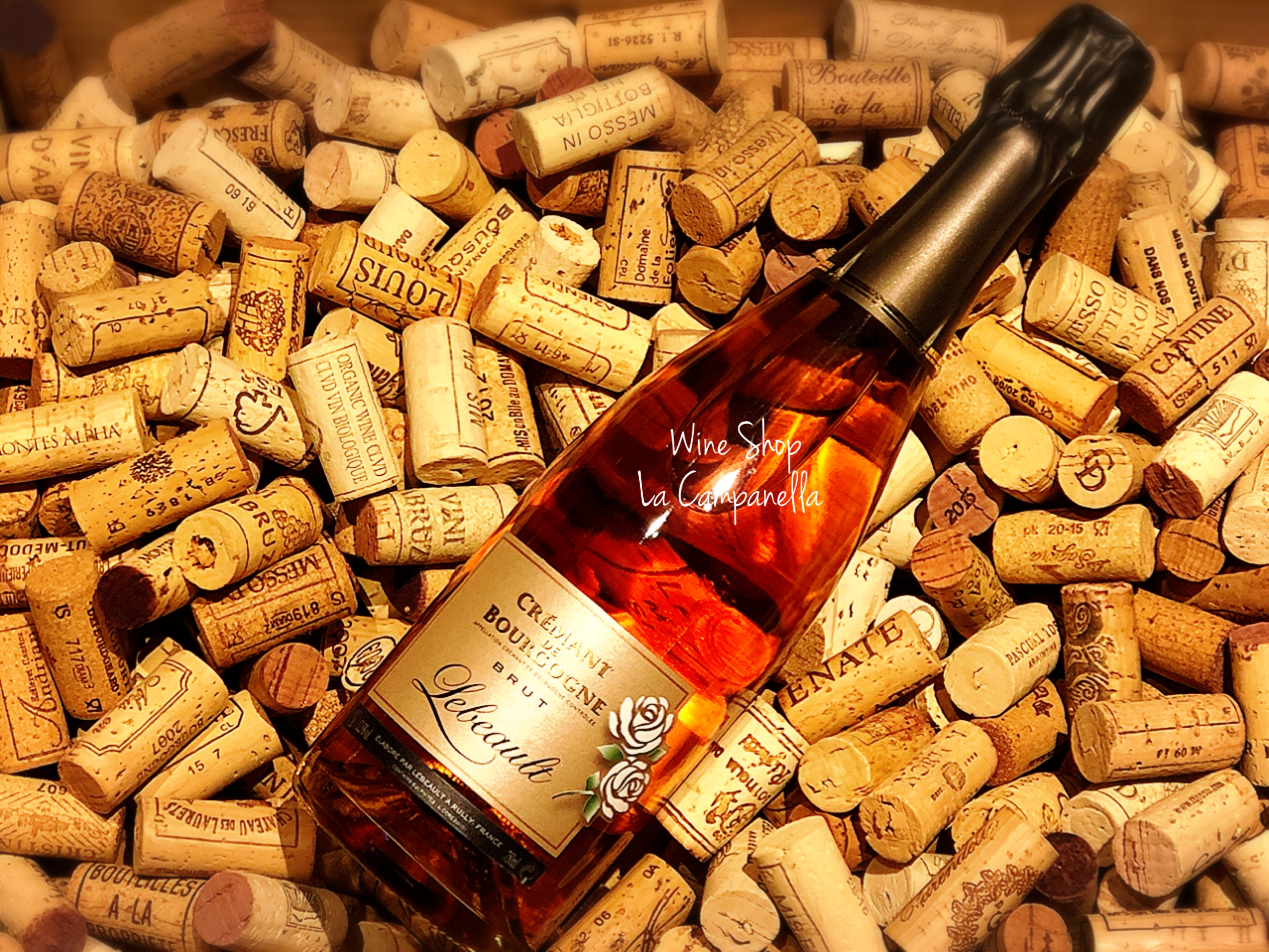 Domaine Lebeault Cremant de Bourgogne Rose