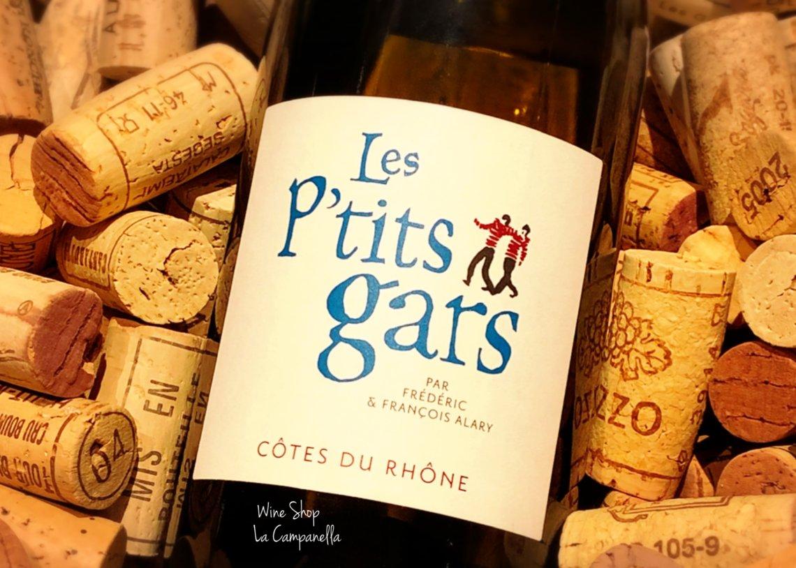 Côtes du Rhône Blanc Les P'tits Gars