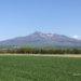 新緑の斜里岳