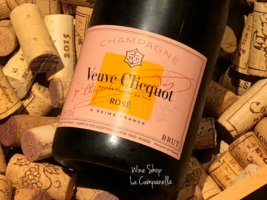 VEUVE CLICQUOT ROSE LABEL
