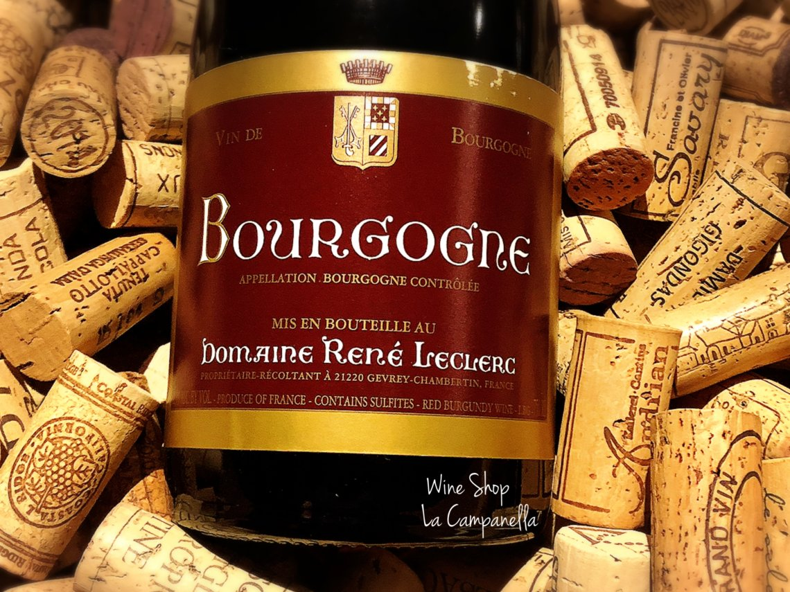 Bourgogne Rouge DOMAINE RENE LECLERC