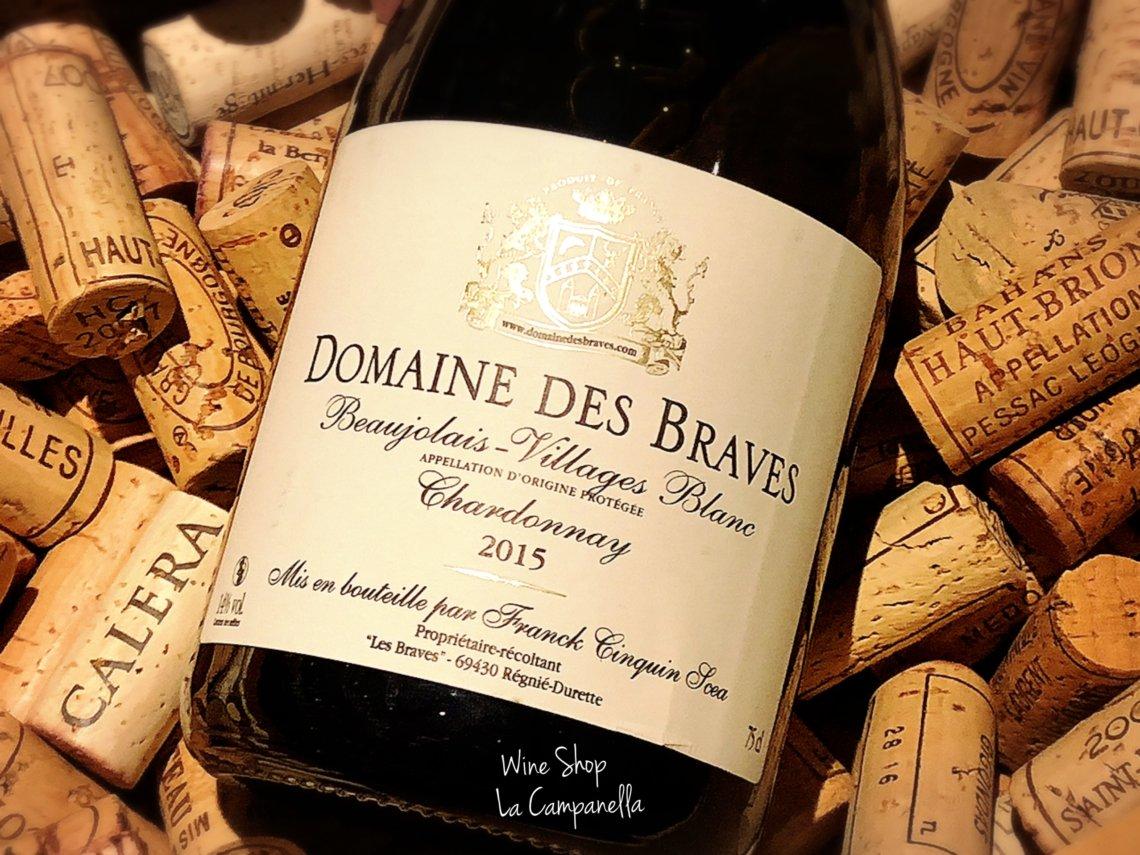 Beaujolais Villages Blanc Domaine Des Brave