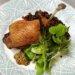 ビュルゴー家シャラン鴨のコンフィレンズ豆を添えて