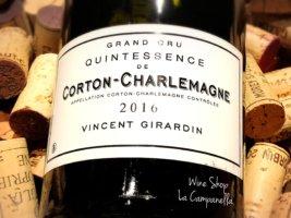 Corton Charlemagne Grand Cru Quintessence  Vincent Girardin