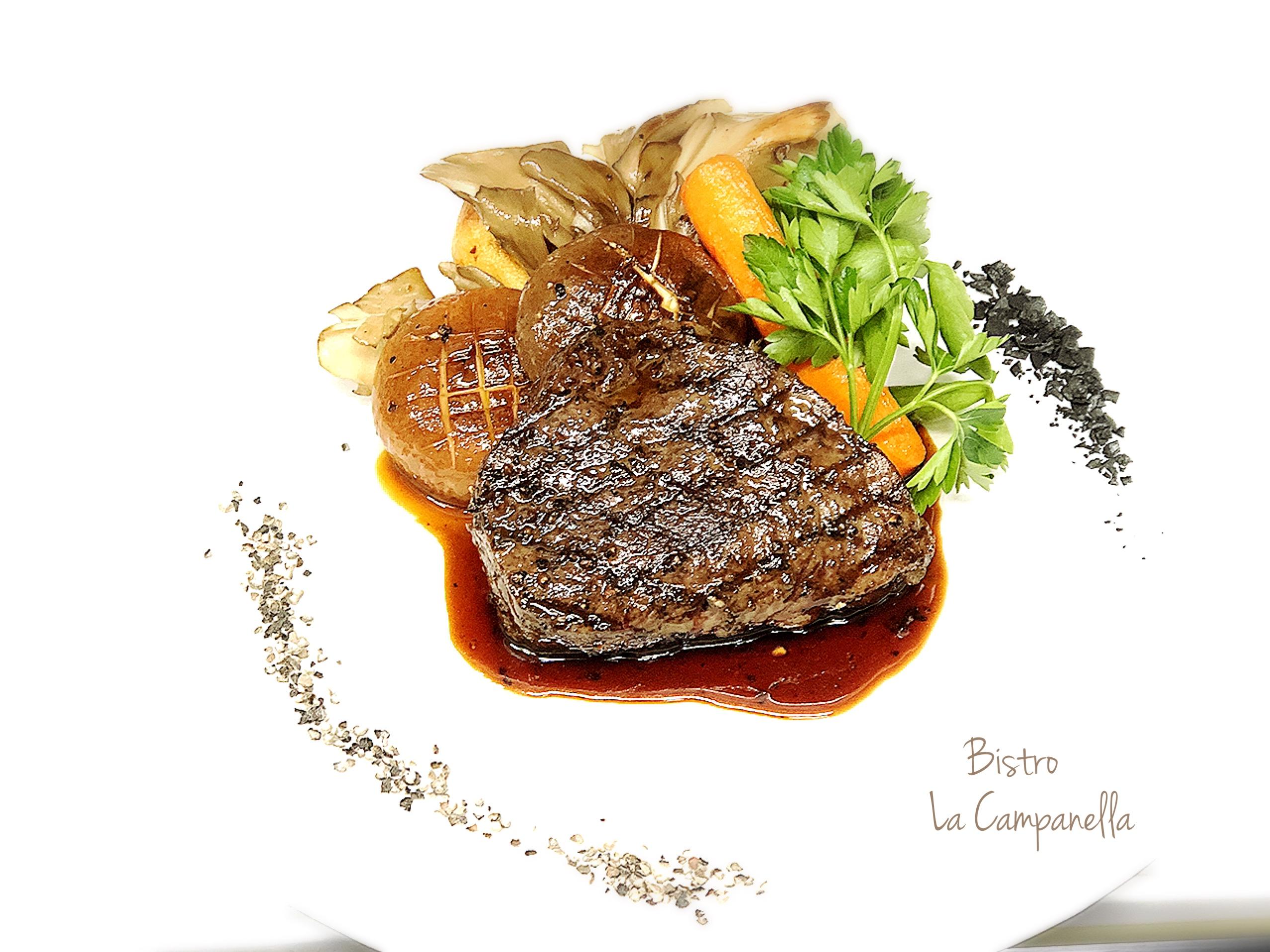 Shiretoko beef rump steak
