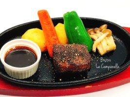 エゾシカのステーキ