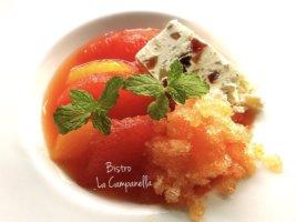Italian fruit punch with cassata