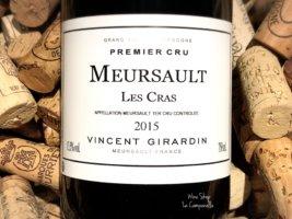 Meursault Rouge Premier Cru Les Cras 2015
