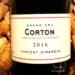 Corton Rouge Grand Cru 2016